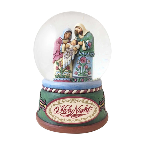 Heartwood Creek Nativity - Holy Family Waterball