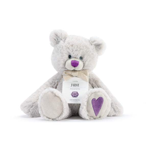DEMDACO Baby Birthstone Bears - June Birthstone Bear