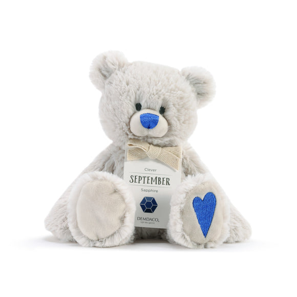 DEMDACO Baby Birthstone Bears - September Birthstone Bear