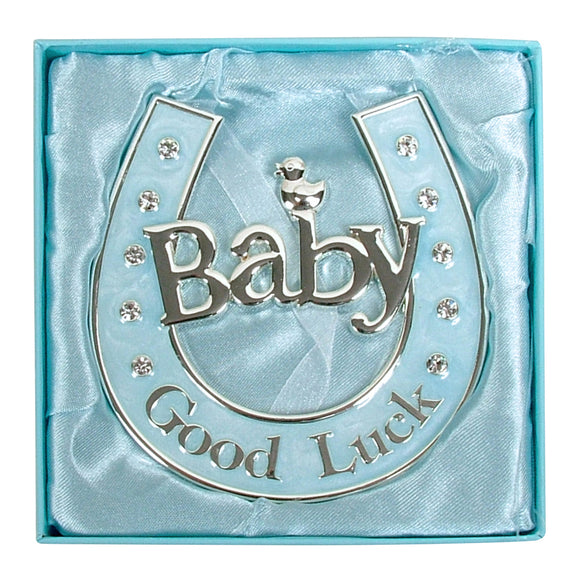 Baby Horseshoe - Blue