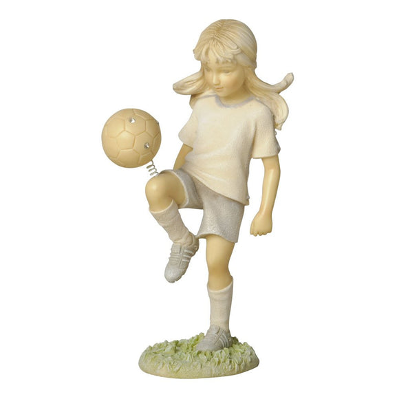 Foundations Mini Soccer Player Figurine