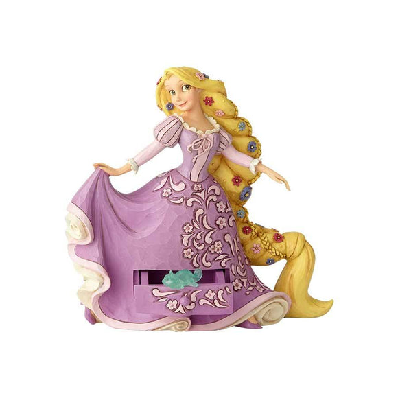DISNEY TRADITIONS - RAPUNZEL WITH PASCAL CHARM