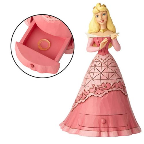 DISNEY TRADITIONS - AURORA WITH TIARA CHARM
