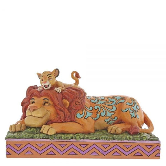 Disney Traditions - Simba & Mufasa A Father's Pride