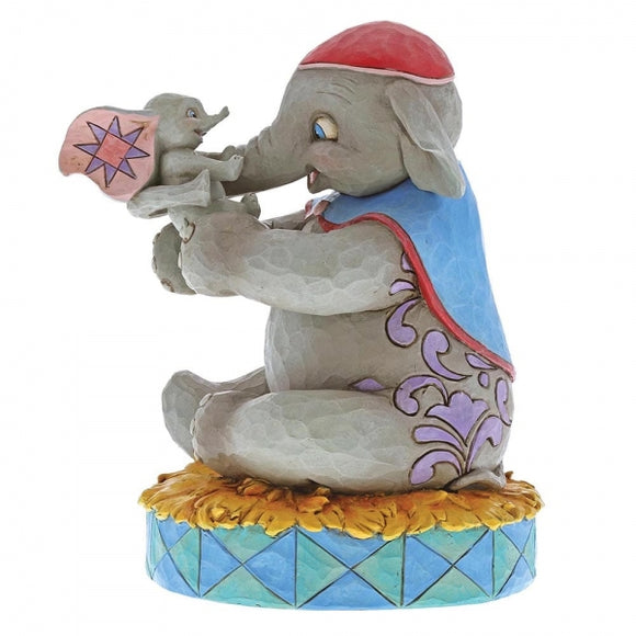Disney Traditions - A Mother's Unconditional Love (Mrs Jumbo & Dumbo Figurine)