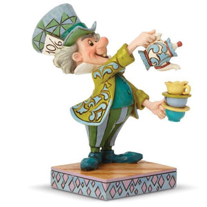 Disney Traditions - Mad Hatter - A Spot of Tea H 12.4cm