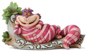 Disney Traditions - Cheshire Cat on Tree - The Cat's Meow H 6.9cm