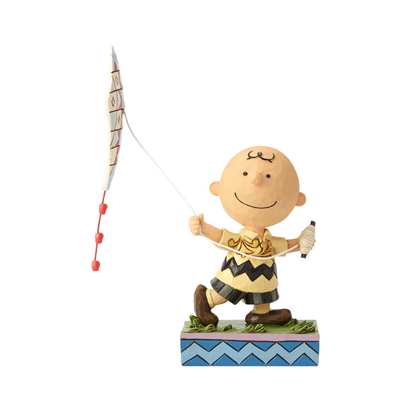 Peanuts by Jim Shore - Charlie Brown Flying Kite