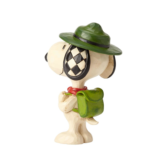 Peanuts by Jim Shore - Snoopy Boy Scout Mini Figurine