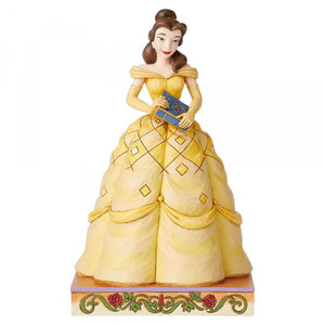 Disney Traditions - Book-Smart Beauty (Belle Princess Passion Figurine)