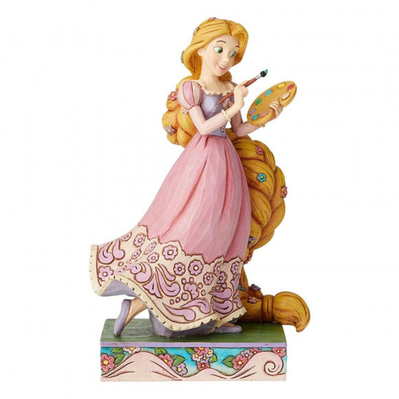 Disney Traditions -Adventurous Artist (Rapunzel Princess Passion Figurine)