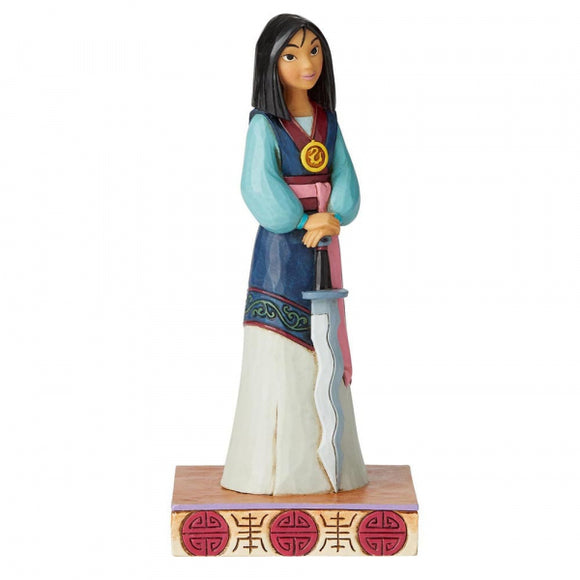 Disney Traditions - Winsome Warrior (Mulan Princess Passion Figurine)