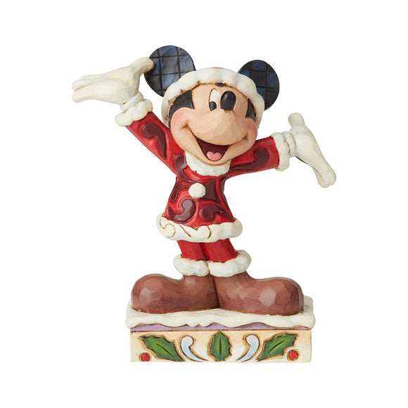 Disney Traditions - Tis a Splendid Season (Mickey Mouse Figurine)