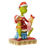 "Grinch by Jim Shore - 17.8cm/7"" Grinch With Cindy & Max"