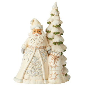 "Heartwood Creek - 27cm/10.6"" Santa with Tree"