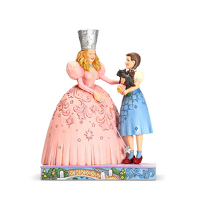 "Wizard of Oz by Jim Shore - 19cm/7.5"" Glinda, Dorothy and Ruby Slippers"