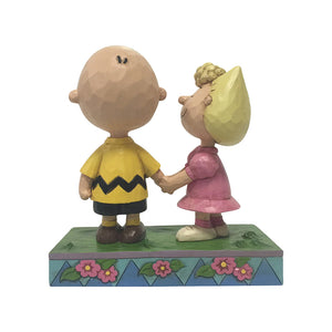 Peanuts by Jim Shore - Charlie Brown & Sally