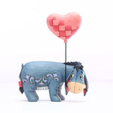 Disney Traditions - Eeyore with a Heart Balloon Figurine