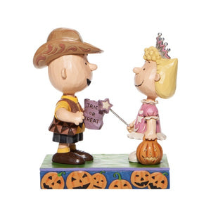 "Peanuts by Jim Shore - 14cm/5.5"" Trick or Treat"