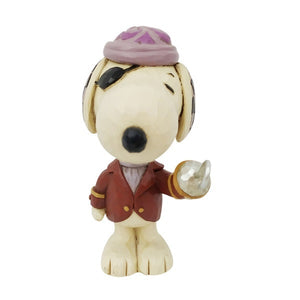 "Peanuts by Jim Shore - 8cm/3.1""Snoopy Pirate"