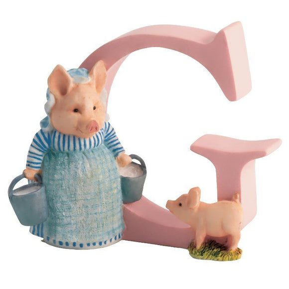 Beatrix Potter Alphabet Letter G – Aunt Pettitoes