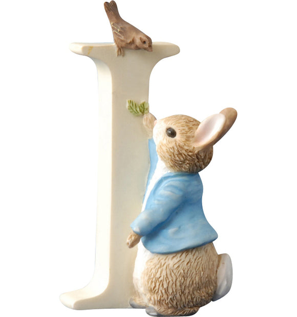 Beatrix Potter Alphabet Letter I – Peter Rabbit
