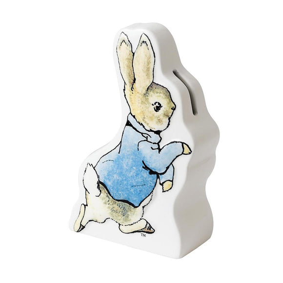 Beatrix Potter Nursery - Peter Rabbit Running Money Bank