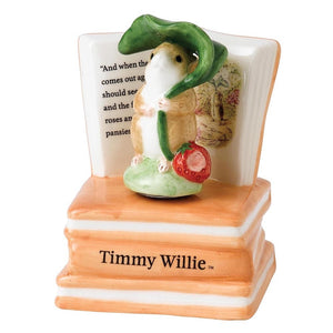 BEATRIX POTTER LARGE FIGURINE - Timmy Willie Musical