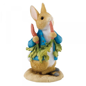 Beatrix Potter Mini Figurine Peter Ate Some Radishes