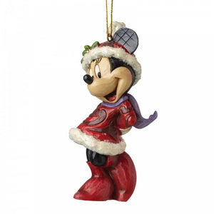 "Disney Traditions - 10cm/4"" Sugar Coated Minnie Mouse HO"