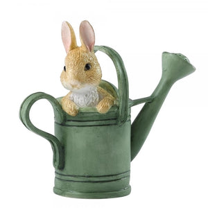 Beatrix Potter Mini Figurine - PETER IN WATERING CAN