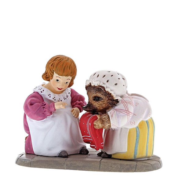 Beatrix Potter Mini Figurine Mrs. Tiggy Winkle and Lucie