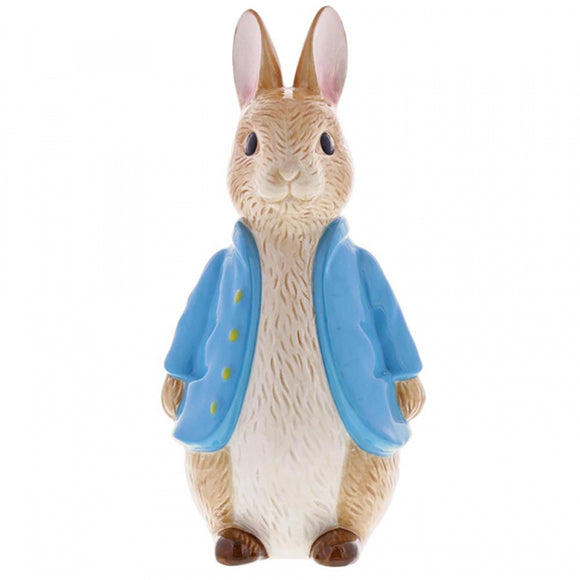 Beatrix Potter Money Banks - Sculpted Peter Rabbit