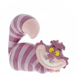 "Disney Enchanting - 13cm/5.1"" Twas Brillig, Cheshire Cat Money Bank"