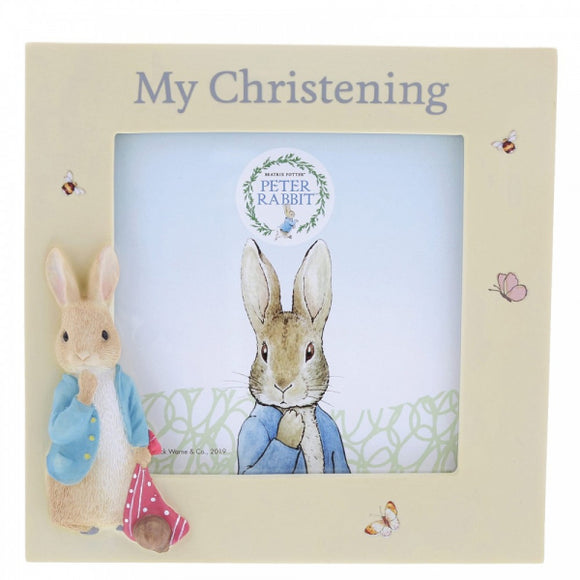 Beatrix Potter Nursery - Peter Rabbit Christening Frame