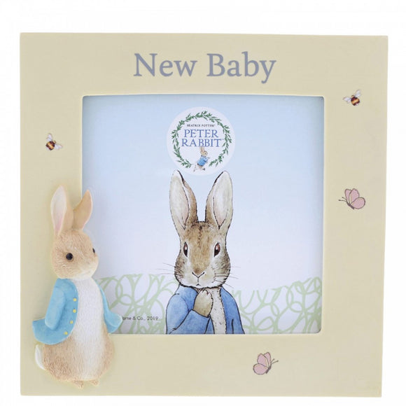 Beatrix Potter Nursery - Peter Rabbit New Baby Frame