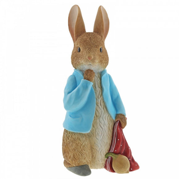 Beatrix Potter Large Figurines - Peter Rabbit Statement Figurine