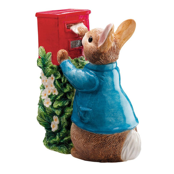 Beatrix Potter Money Bank Posting a Letter