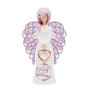 You Are An Angel 175 mm Figurine - Family Blessing