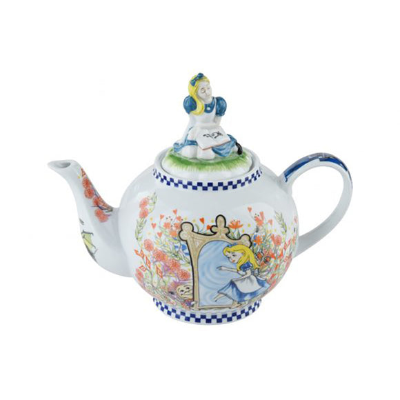 Cardew Design - Alice Through The Looking Glass 6-Cup, 48oz Teapot with Alice Lid