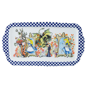 Cardew Design - Alice Through The Looking Glass Rectangular Tray