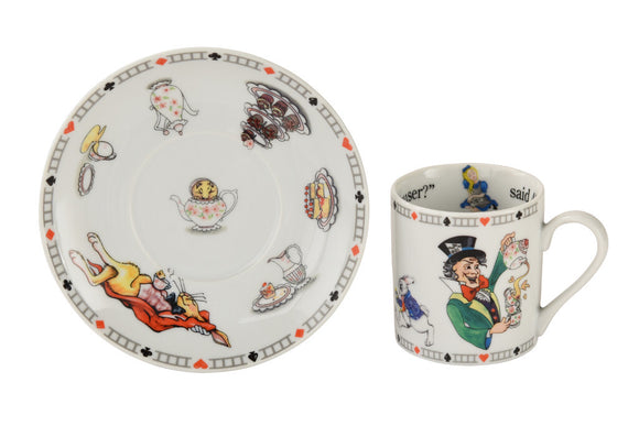 Cardew Design - Alice Mad Hatter & Friends Cup & Saucer