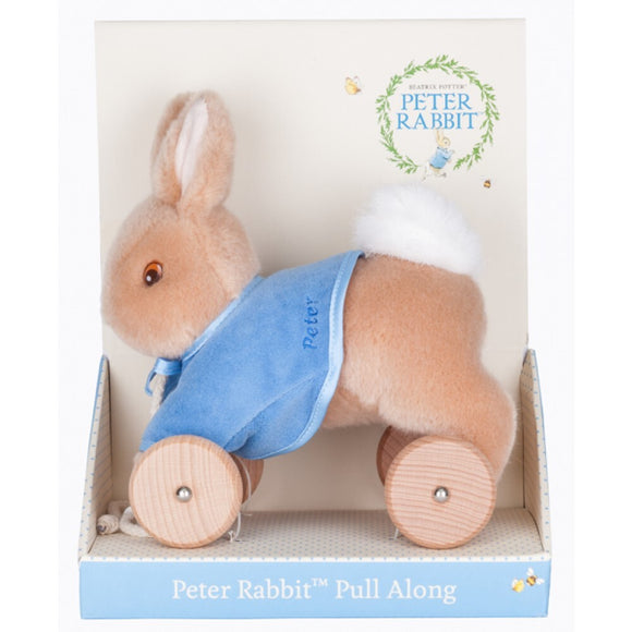 Beatrix Potter - Pull Along Toy Peter Rabbit