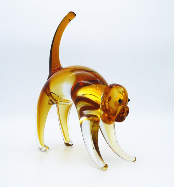 Coloured Glass - Monkey  22CM
