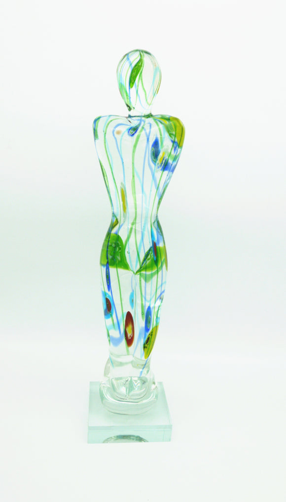 Coloured Glass - OSCAR FIGURINE