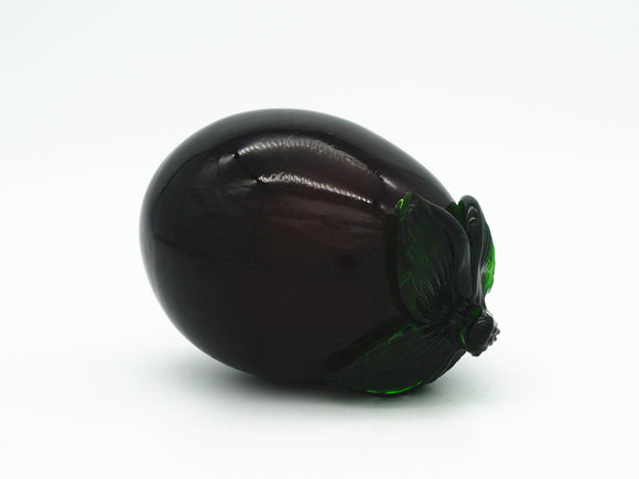 Coloured Glass - Aubergine Small