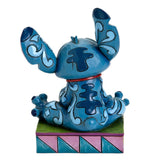 "Disney Traditions - Stitch -""Ohana Means Family"" (H 9.5cm)"