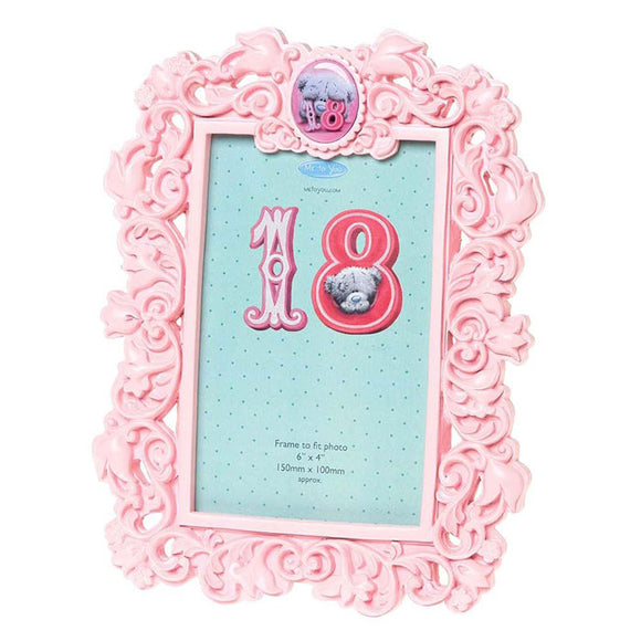 18th Birthday Me to You Bear Photo Frame