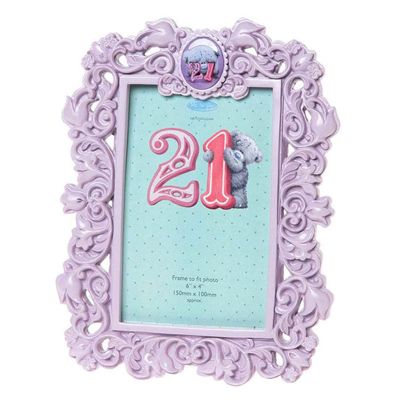 21st Birthday Me to You Bear Photo Frame