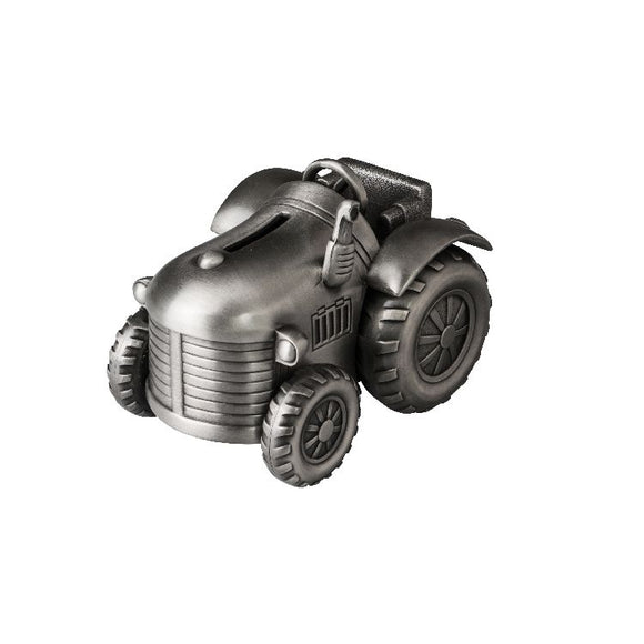 Money Bank - TRACTOR PEWTER FINISH - Gifts for Kids